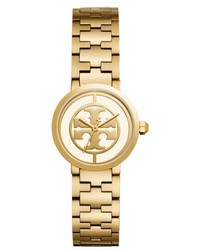 Tory Burch Reva Logo Dial Bracelet Watch 28mm