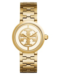 Tory Burch Reva Logo Dial Bracelet Watch