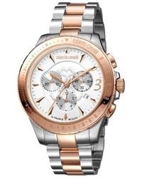 Roberto cavalli by franck muller chronograph bracelet watch 43mm medium 3681363