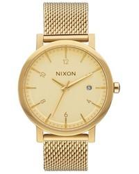 Nixon Rollo Mesh Strap Watch 38mm