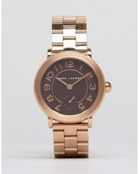 Marc Jacobs Rose Gold Riley Watch Mj3489