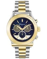 Salvatore Ferragamo 1898 Chronograph Bracelet Watch 42mm