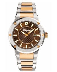 Salvatore Ferragamo F80 Bracelet Watch 44mm