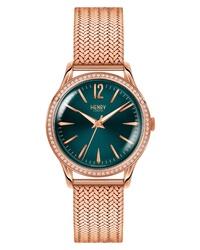 Henry London Stratford Mesh Watch