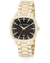 Ted Baker Goldtone Stainless Steel Watch