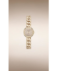 Burberry The Britain Bby1952 26mm Diamond Indexes