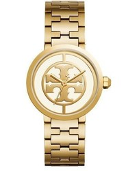 Tory Burch The Reva Bracelet Watch Goldenwhite