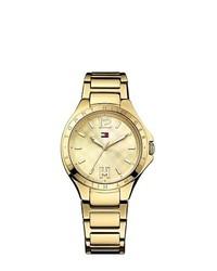 Tommy Hilfiger Gold Bracelet Watch