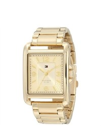 Tommy Hilfiger Gold Tone Ladies Watch 1781195