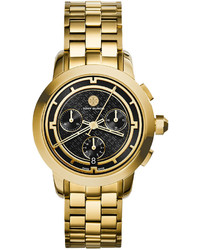 Tory Burch Tory Golden Chronograph Dial Watch 37mm