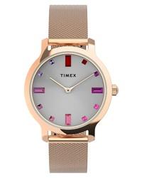 Timex Transcend Malibu Mesh Watch