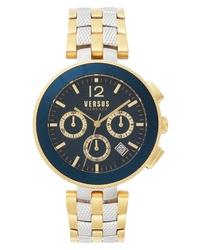Versus Versace Versace Logo Chronograph Bracelet Watch