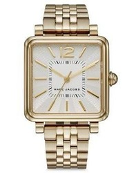 Marc Jacobs Vic Goldtone Stainless Steel Bracelet Watch