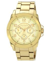 Vince Camuto Round Bracelet Watch 42mm Gold