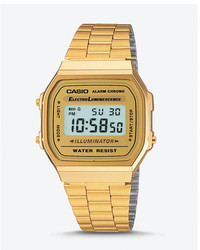 Express Vintage Casio Gold Digital Watch