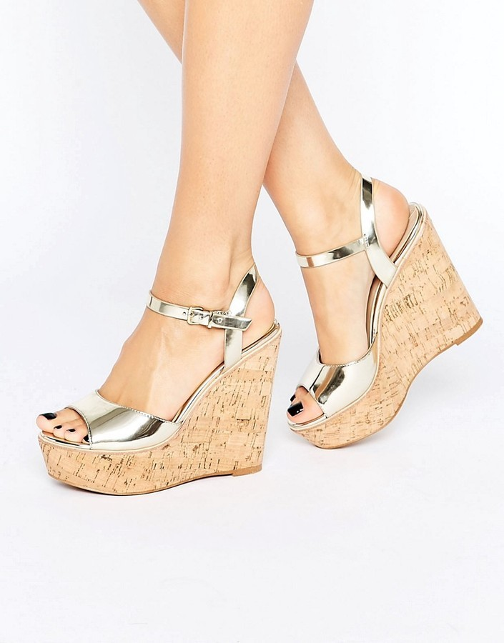 a694d149f35 ... Gold Wedge Sandals Aldo Aralinna Platform Wedge Sandals ...