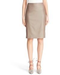 Max Mara Wool Blend Pencil Skirt
