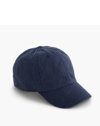 Gorra de béisbol azul marino de J.Crew