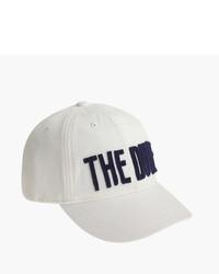Gorra de béisbol blanca de J.Crew