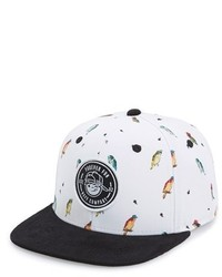 Gorra de béisbol blanca de Neff