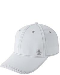 Gorra de béisbol blanca de Original Penguin