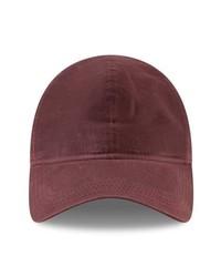 Gorra de béisbol burdeos