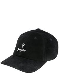 Gorra de béisbol de cuero negra de Blood Brother