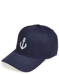 Gorra de béisbol estampada azul marino de Gents