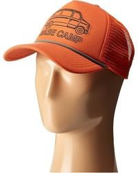 Gorra de béisbol naranja