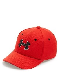 Gorra de béisbol roja de Under Armour