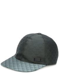 Gorra de béisbol verde oscuro de Emporio Armani