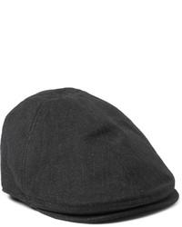 Gorra inglesa de espiguilla en gris oscuro