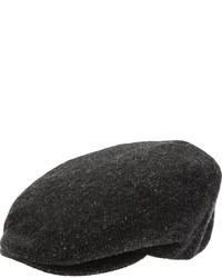 Gorra inglesa en gris oscuro de Dolce & Gabbana