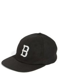 Gorra Inglesa Estampada Negra de Brixton