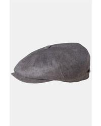 Gorra inglesa gris de Stetson