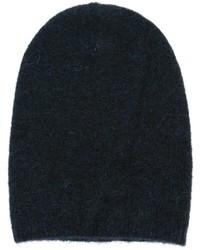 Gorro de punto azul marino de Laneus