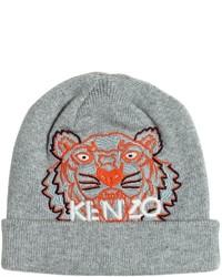 Gorro de punto gris de Kenzo