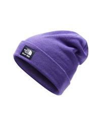 Gorro en violeta