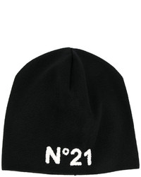 Gorro estampado negro de No.21