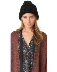 Gorro negro de Free People