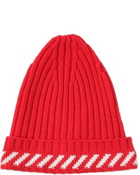 Gorro rojo de Off-White