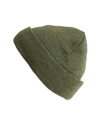 Gorro verde oliva de Topman