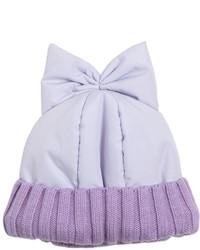 Gorro violeta claro