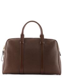 Grand sac en cuir brun Tom Ford