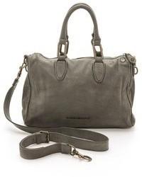 Grand sac en cuir gris foncé Liebeskind