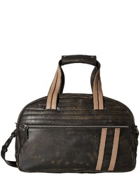 Grand sac en cuir noir Scully