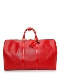 Grand sac en cuir rouge WGACA