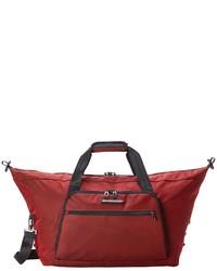 Grand sac en toile rouge Briggs & Riley