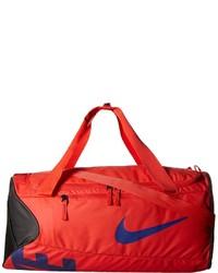 Grand sac en toile rouge Nike