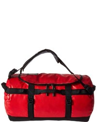 Grand sac en toile rouge The North Face